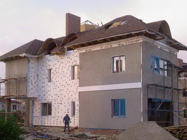 Ремонт фасада дома из облицовочного кирпича