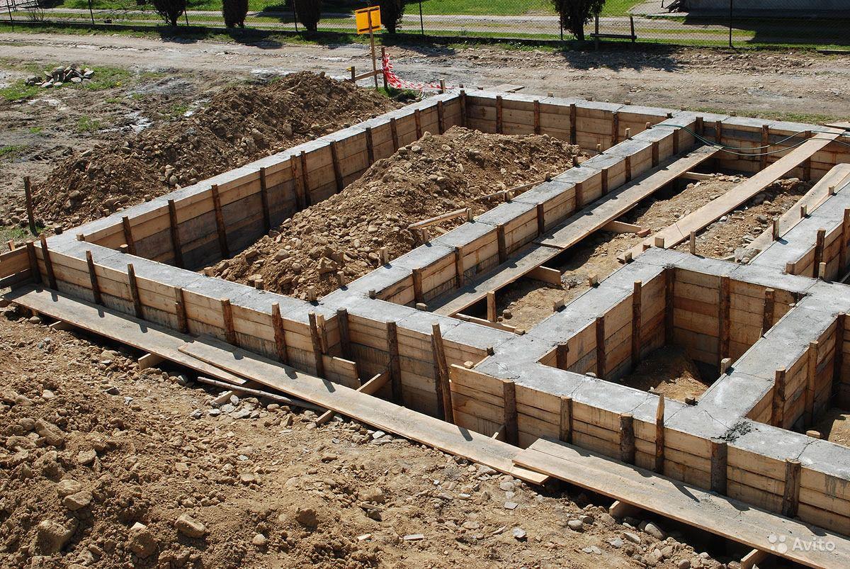Как построить фундамент для дома