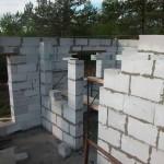 Процесс строительства частного дома из газобетона