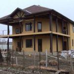 Строительство дома под ключ на участке