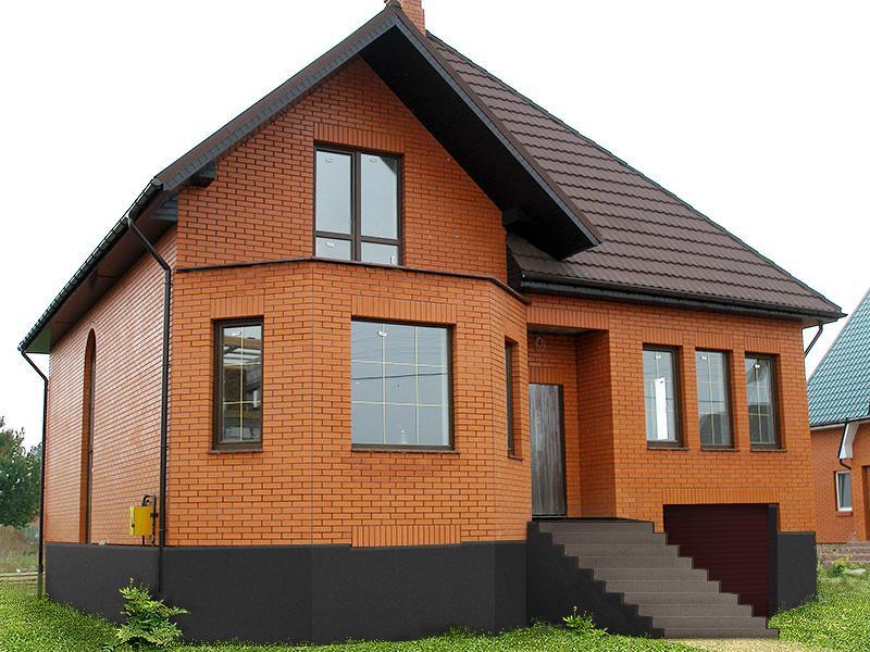 Строительство дачных домов под ключ - примеры работ