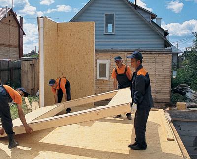 строительство СИП-домов