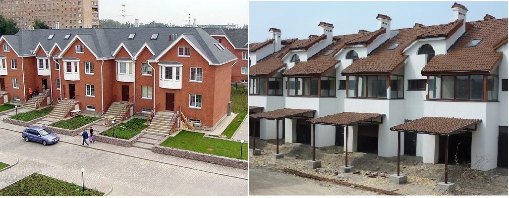 Výstavba rodinných domov Kyjev