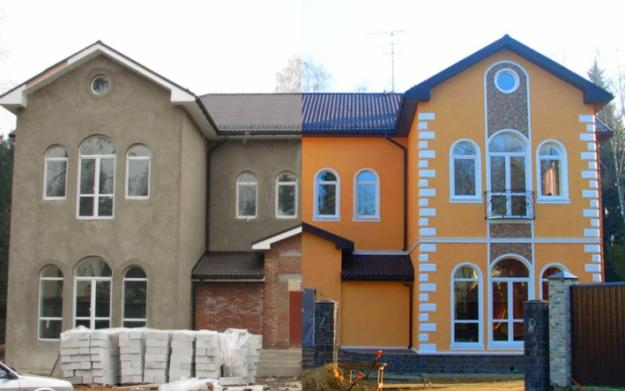 Выгодные расценки на фасадные работы в прайс-листе ДомСтрой