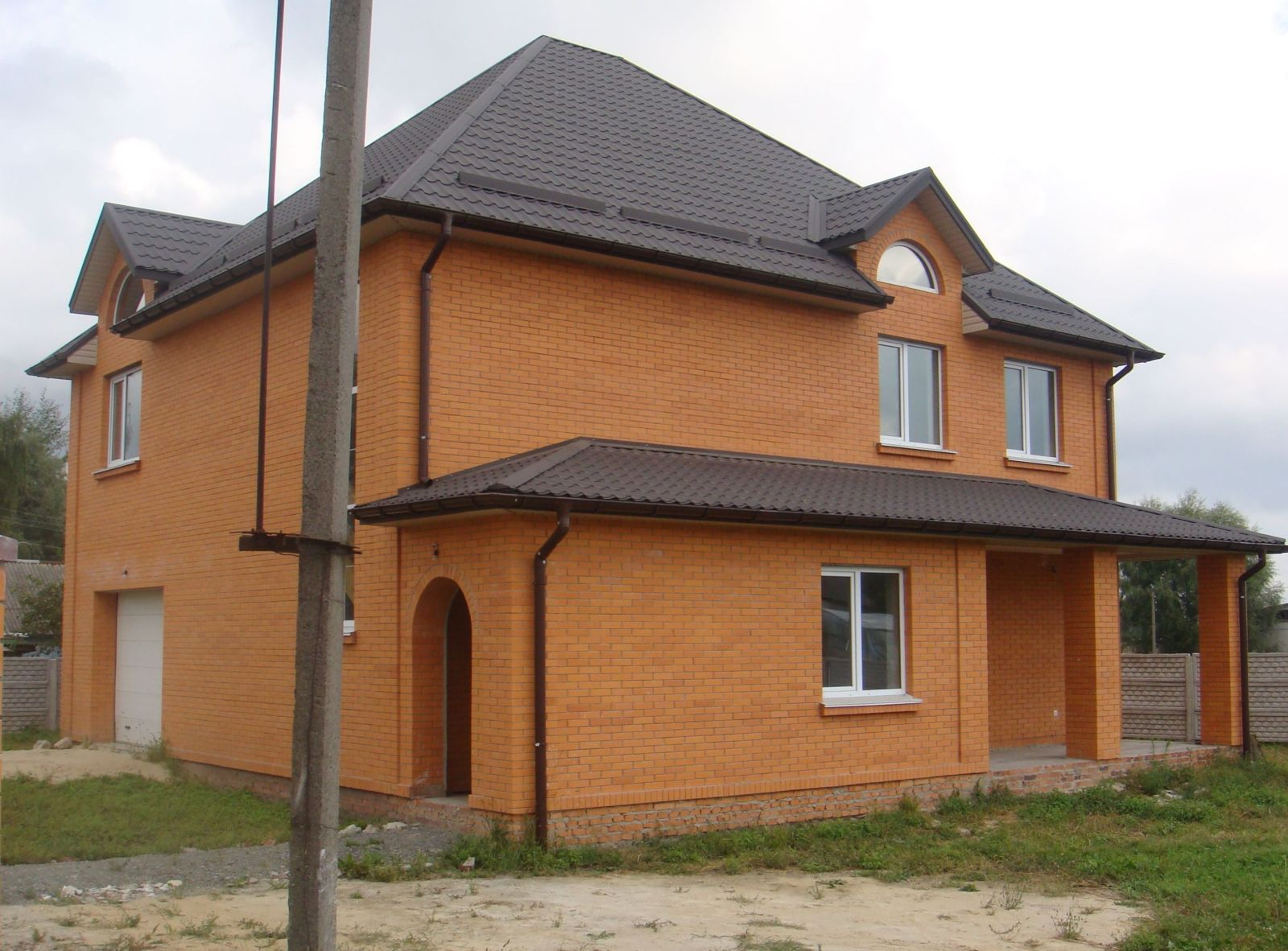 Кирпичные дома своими руками цена