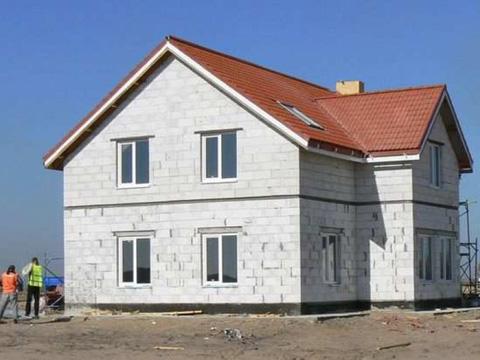 Теплый и безопасный дом из газобетона