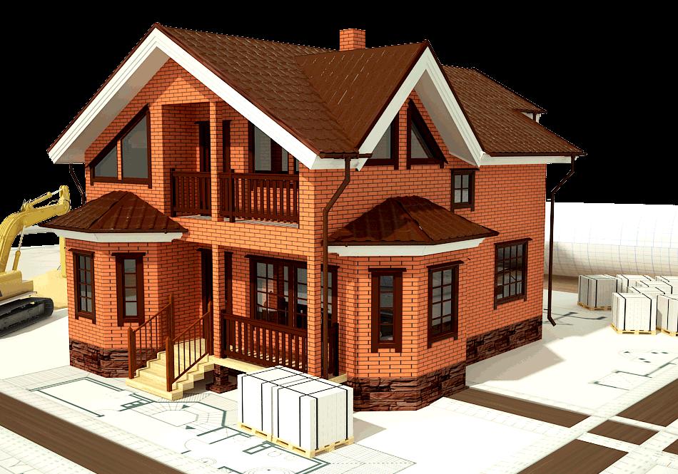 Строительство кирпичного дома под ключ в Киеве и области