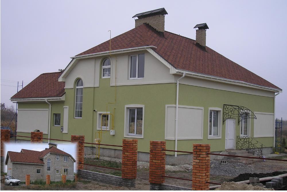 Фасадные работы в Киеве - цены доступны