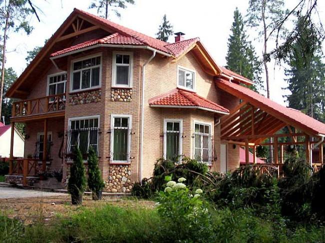 дачный домик компания домстрой