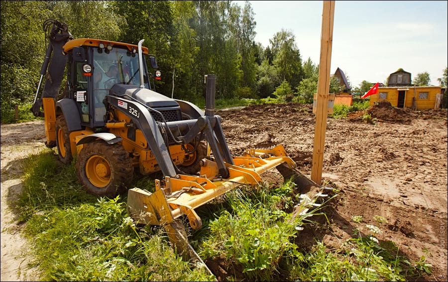 Подготовка к строительству загородного дома