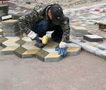 Технологии укладки тротуарной плитки