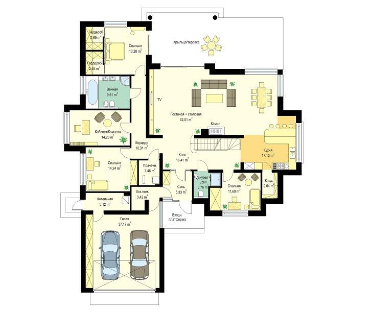 projekt-domu-rozlozysty-2-rzut-parteru-1399549376.jpg