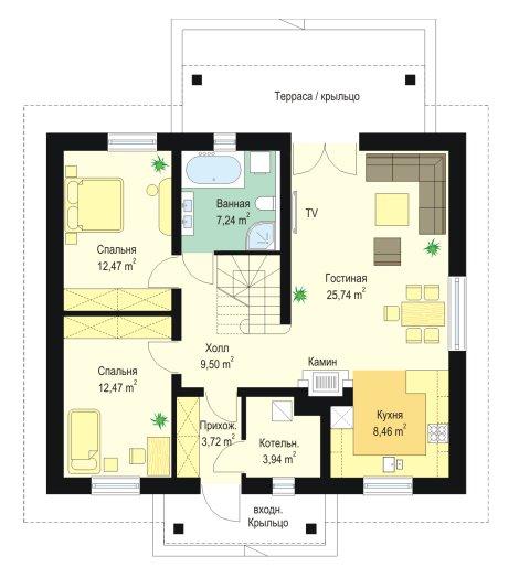 projekt-domu-zabka-2-rzut-parteru-1354795997.jpg