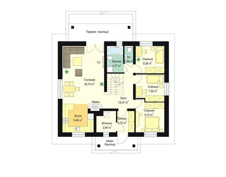 projekt-domu-zabka-3-rzut-parteru-1400593543.jpg