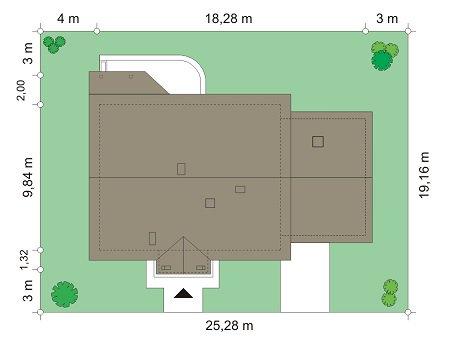 proyekt-doma-nyezapominayka-s-garazhom-2-raspolozhyeniye-doma-na-uchastkye-1431431394.jpg